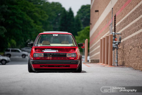 Russ' Mk2 VW Jetta VR6 on BBS RS's - 1284