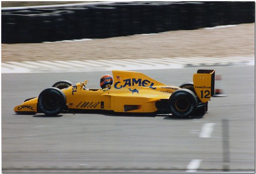Martin Donnelly Lotus Lamborghini 102 F1.1990 British GP Test Silverstone