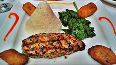 chicken meat(0.0), crab cake(0.0), fish(0.0), vegetarian food(0.0), kibbeh(0.0), veggie burger(0.0), produce(0.0), falafel(0.0), meal(1.0), vegetable(1.0), fishcake(1.0), croquette(1.0), fried food(1.0), cutlet(1.0), pork chop(1.0), meat(1.0), food(1.0), dish(1.0), cuisine(1.0),