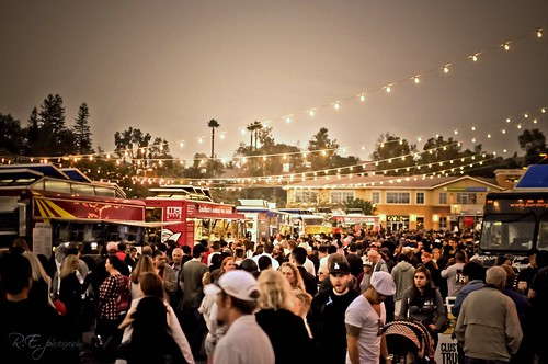 Awesometown Gourmet Food Truck Festival ~ Valencia, CA