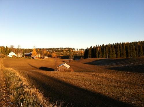 sunrise suomi finland day clear soome southkarelia eteläkarjala lõunakarjala sügis