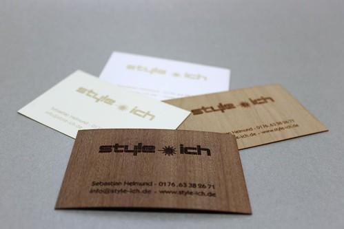 frisch gebrannt die ersten style ich visitenkarten mit. Black Bedroom Furniture Sets. Home Design Ideas