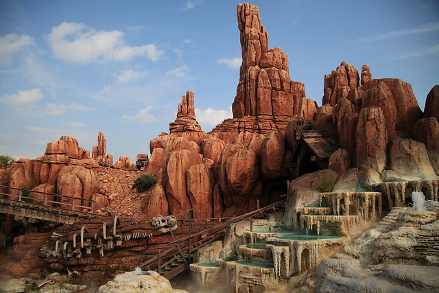 Big Thunder Mountain at Tokyo Disney Land