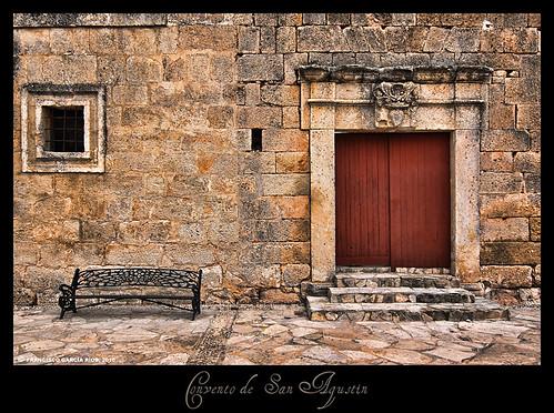 Puerta del Convento de San Agustín (Campillo de Altobuey).