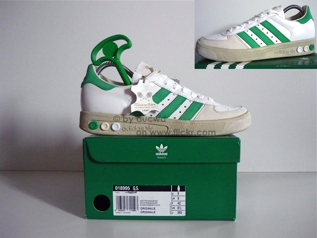 size 40 dac0d 705a5 ... UNWORN 70`S  80`S VINTAGE ADIDAS GRAND SLAM TENNIS SHOES  by