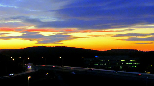 sunset clouds king pennsylvania hills turnpike drivehome prussia catchycolorsorange
