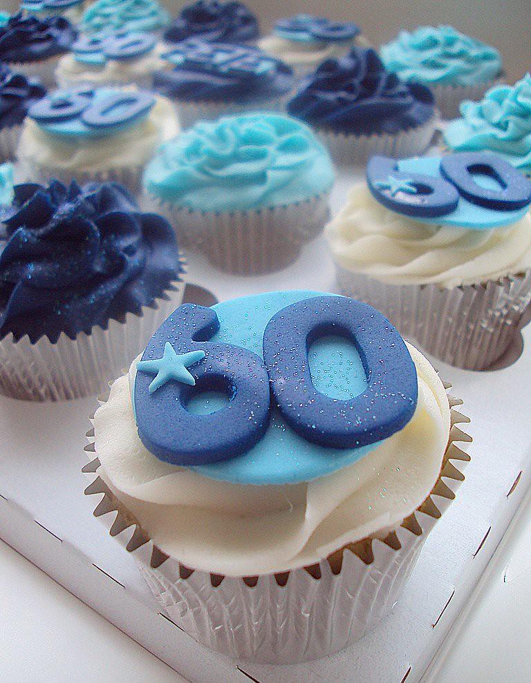 60th Birthday Cupcakes Nottingham