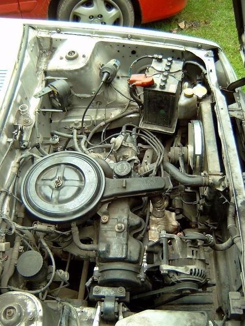 1990 Nissan Micra K10 Engine Bay