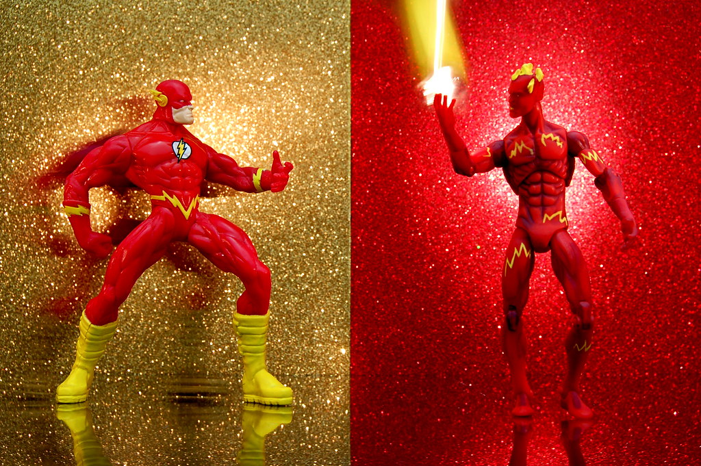 Flash vs. Human Torch (320/365)