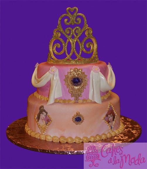 Disney Princess Cake  Flickr - Photo Sharing!