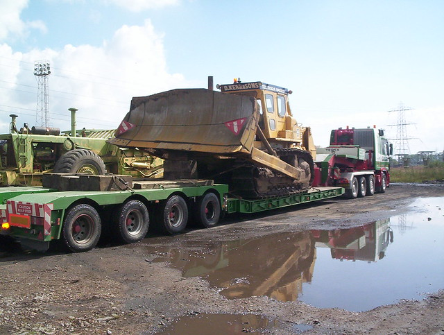 Cadzow Heavy Haulage  CAT D9