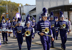 police(0.0), marching band(1.0), musician(1.0), parade(1.0), musical ensemble(1.0), marching(1.0), person(1.0), social group(1.0),