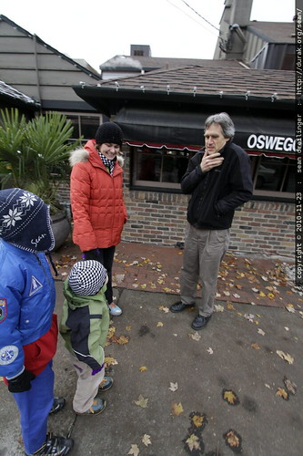 chance encounter with architect rich farrington on the streets of lake oswego