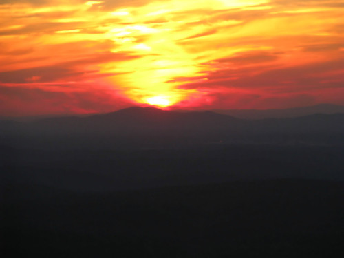 sunset cheaha