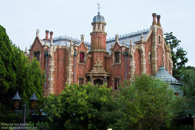 Tokyo Aug 2010 - The Haunted Mansion