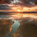 Sunset Reflections - San Gregorio State Beach, California