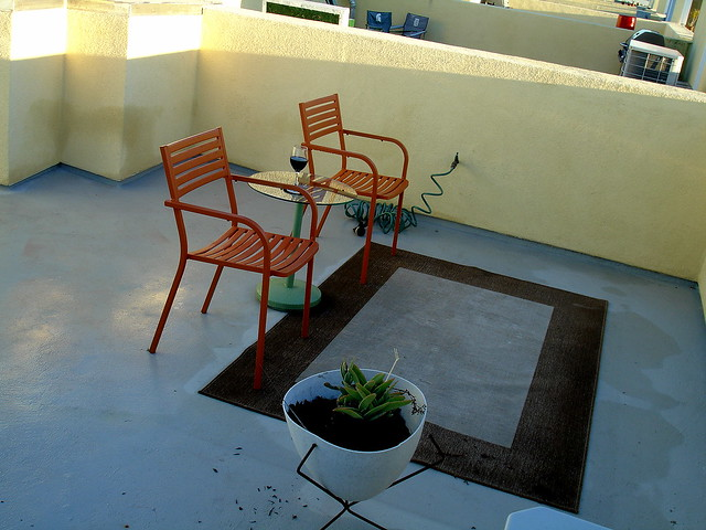 My Roof Deck Furniture DIY Project 1