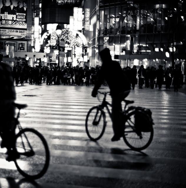 Tokyo on bikes, Shibuya 渋谷区