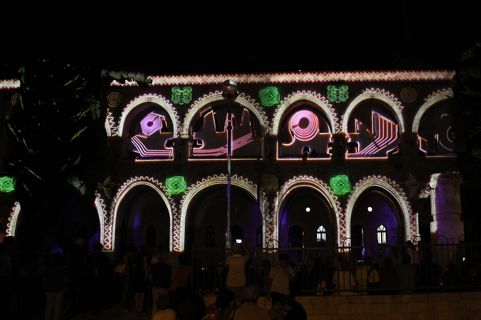 Dream Machine, Jerusalem Festival of Light 2017
