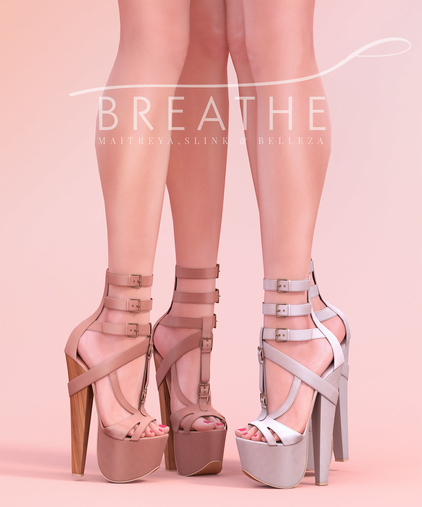 [BREATHE]-Katashi Heels - SecondLifeHub.com