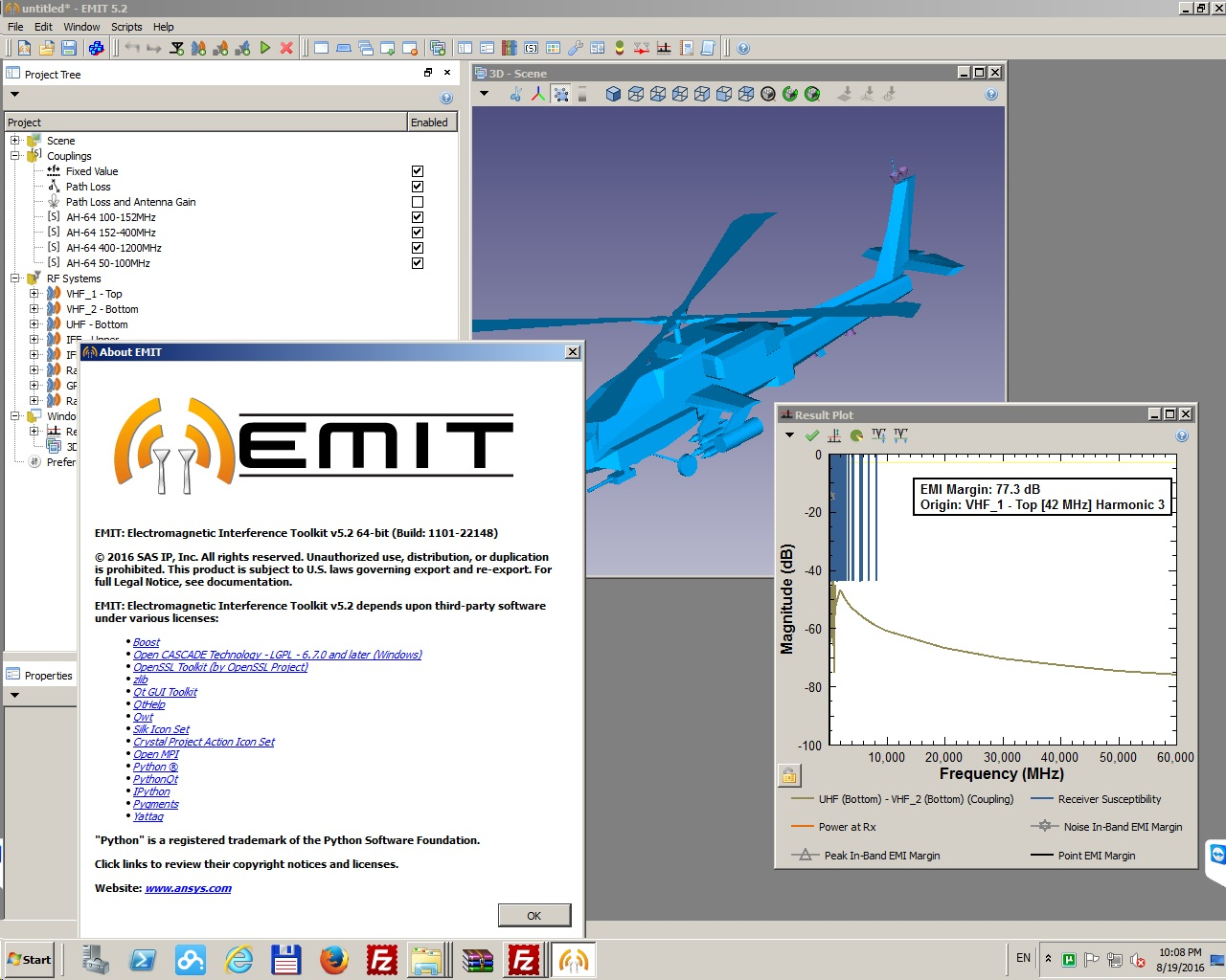 Working with Emit 5.2 ANSYS Electromagnetics Suite 17.2 Win64