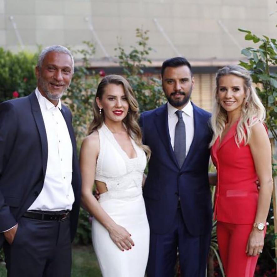 Alişan, Esra Erol'un kardeşi Eda Erol ile nişanlandı