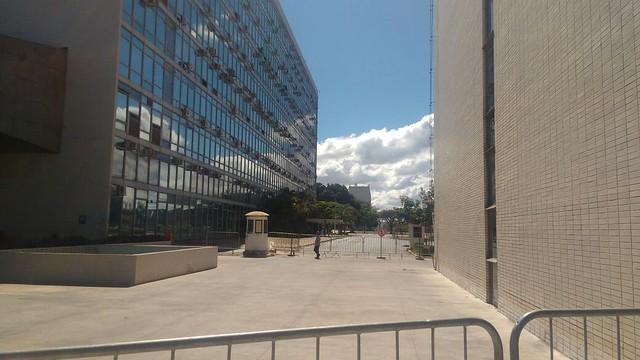 Esplanada dos Ministérios vazia, em Brasília,   - Créditos: Cristiane Sampaio | Brasil de Fato