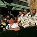 Eric de Doncker, Bas Leinders and Markus Palttala Drivers of Marc VDS Racing Team's Ford GT1 ©Dave Hamster
