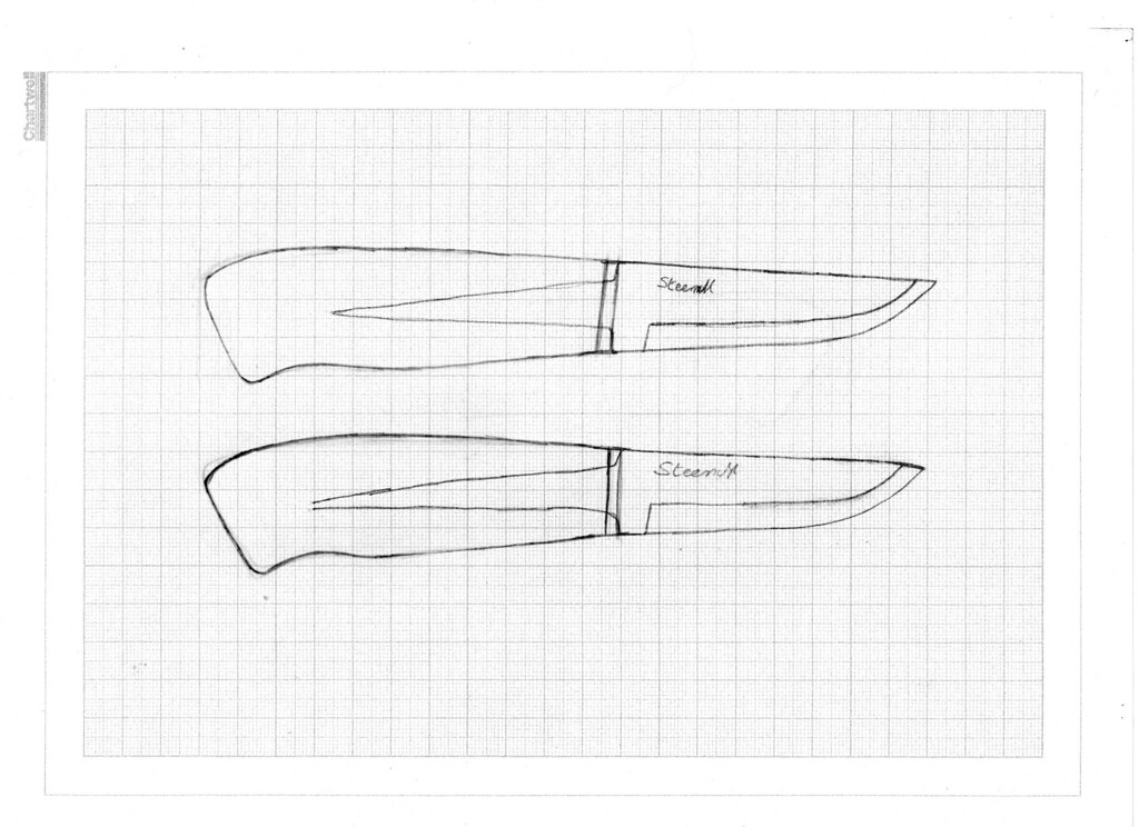 Knife Blade Designs Knife Designs by Alf Branch