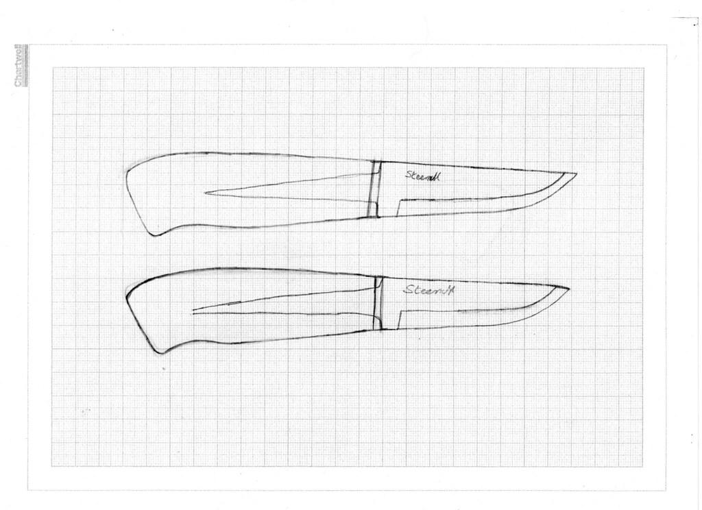 Knife Blade Designs Knife Designs by Alf Branch