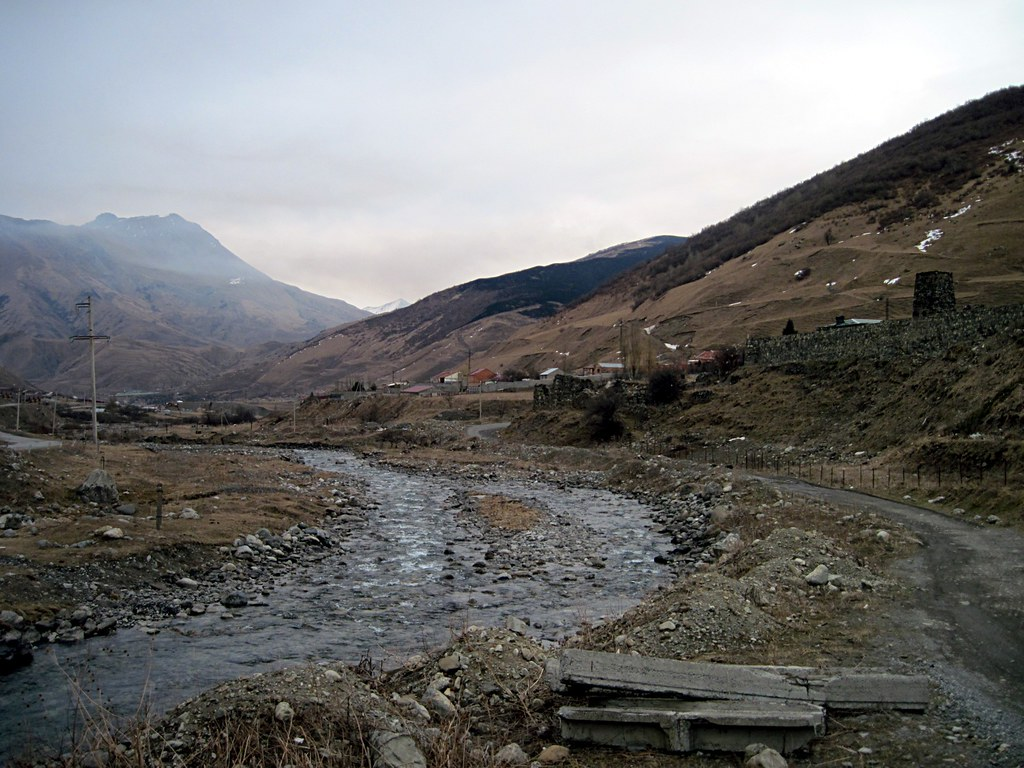 A valley, North Ossetia