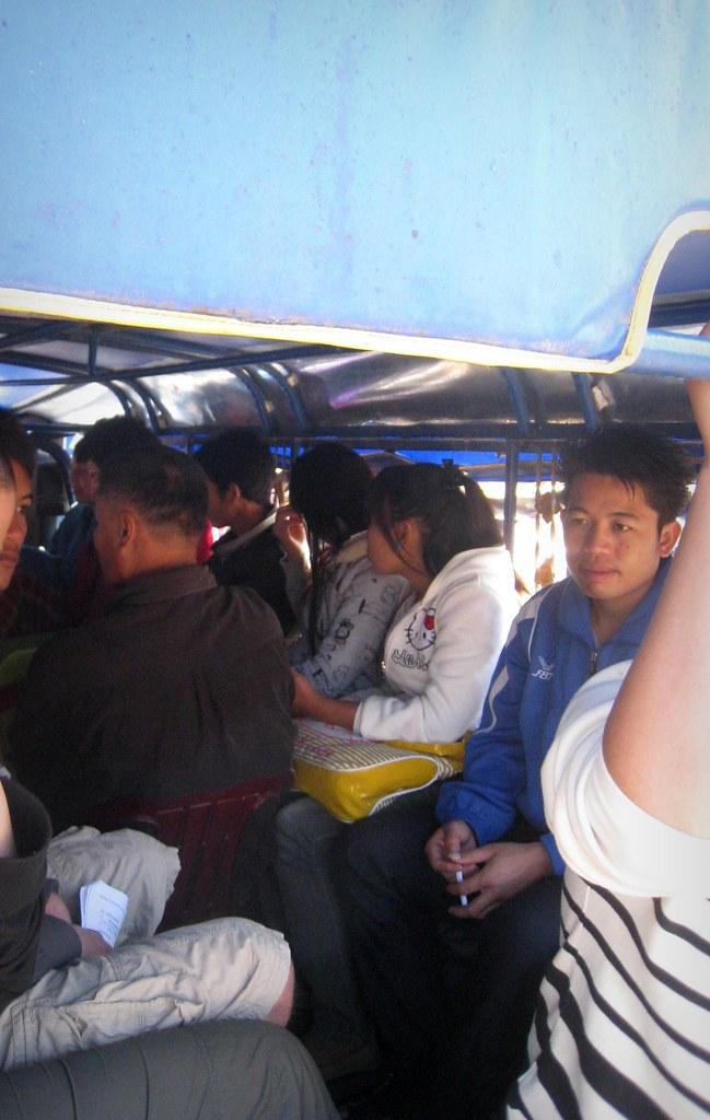 """Dans le """"bus"""""""