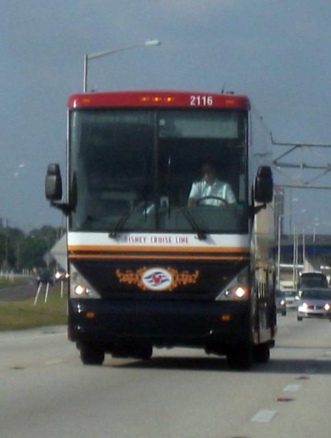 Disney cruise line bus 2116 flickr photo sharing