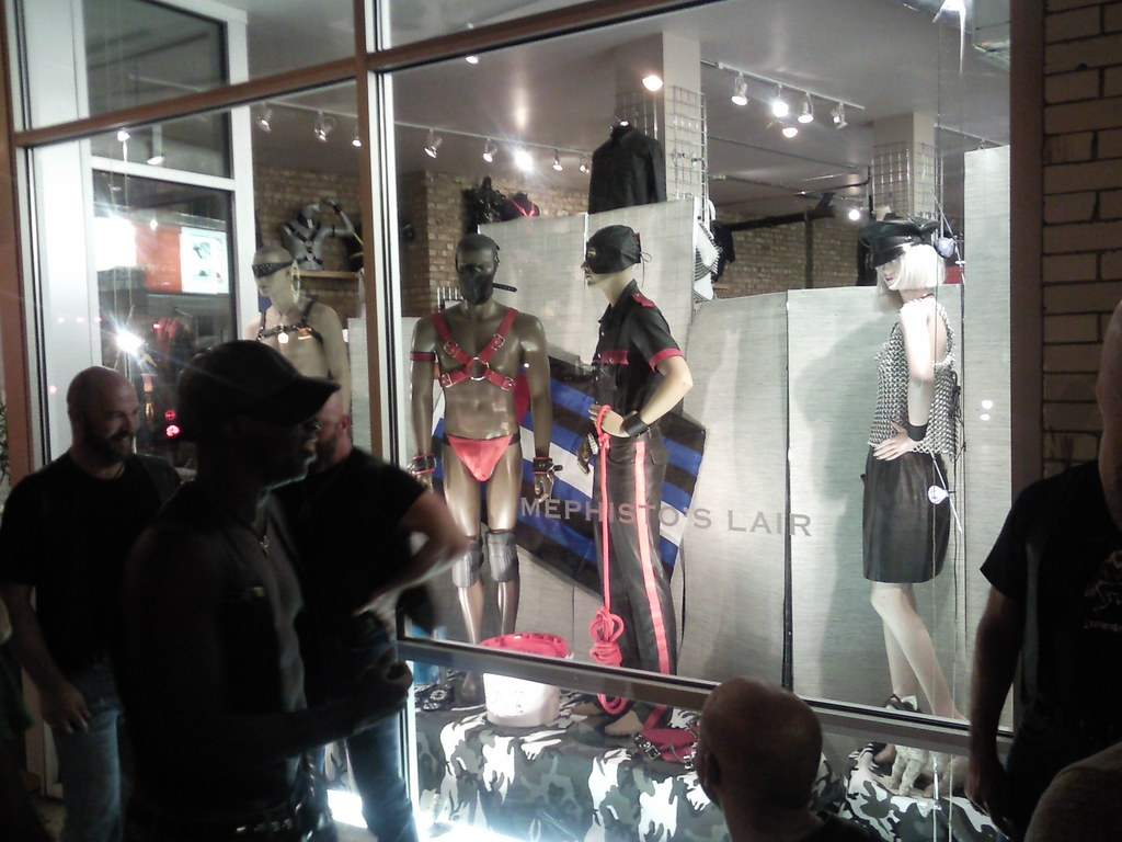 Gay leather chicago retail