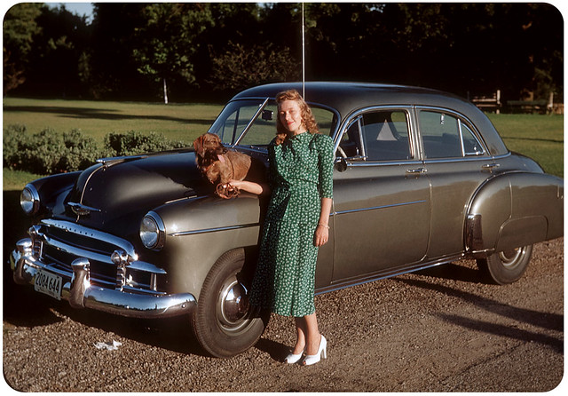 Afternoon Sun on the Chevy — 1950