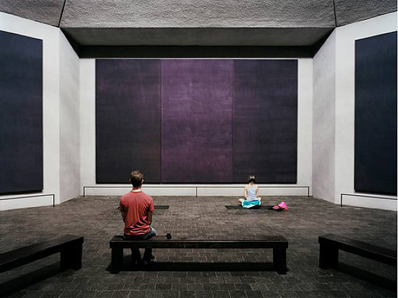 The Rothko Chapel, Houston, by Thomas Struth 2007