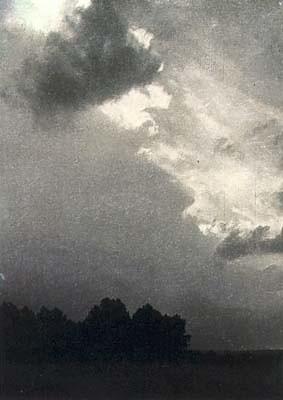 Landscape near Elba, by Josef Sudek 1918-22