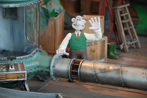 Aardman Wallace and Gromit Cracking Ideas exhibit at the Glasgow Science Centre