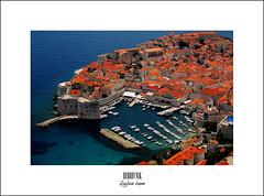 Dubrovnik, the pearl of the Adriatic sea