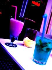 cosmopolitan(0.0), purple(1.0), distilled beverage(1.0), liqueur(1.0), blue hawaii(1.0), drink(1.0), cocktail(1.0), alcoholic beverage(1.0),