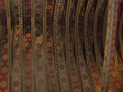Decorated ceiling.
