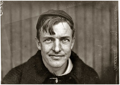 Giants pitcher Christy Mathewson, by Paul Thompson 1910