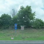 Interstate 45 Road Sign, Ferris, Texas