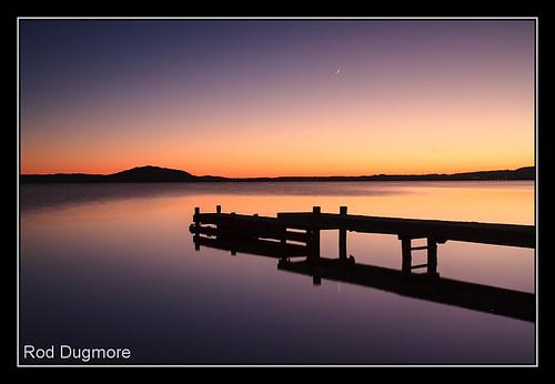 newzealand lake sunrise rotorua northisland