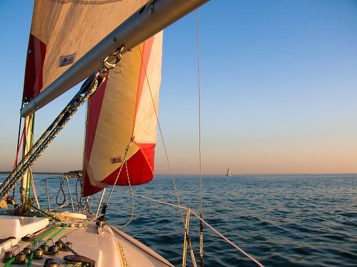 Sailing in Siberia