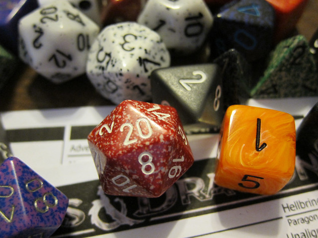 A d20 just like you want to see it