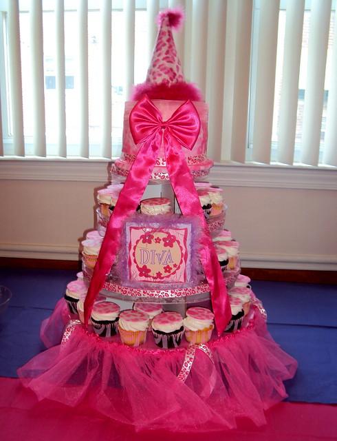 1st Birthday Cupcake Cakes