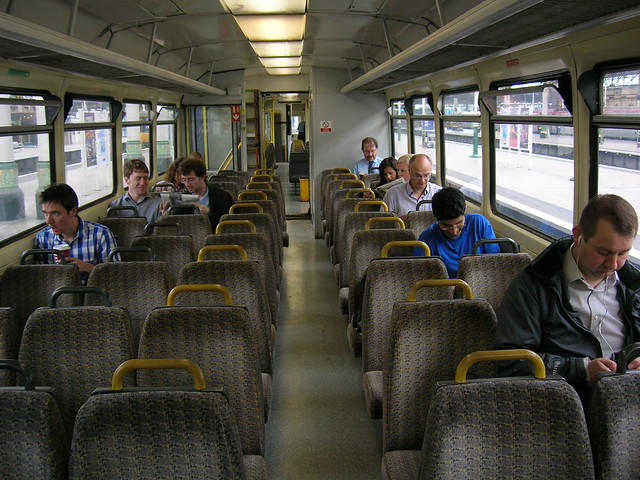Class 142 Pacer interior (Merseytravel PTE specification)