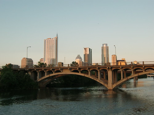 Austin, TX at sunset
