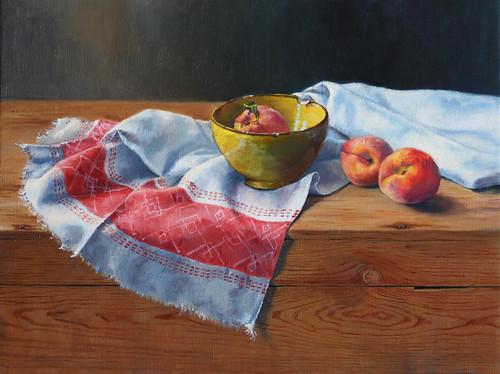 20100708 peaches 18x24